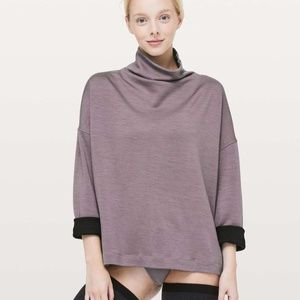 Lululemon Principal Dancer Funnel Neck Sweater